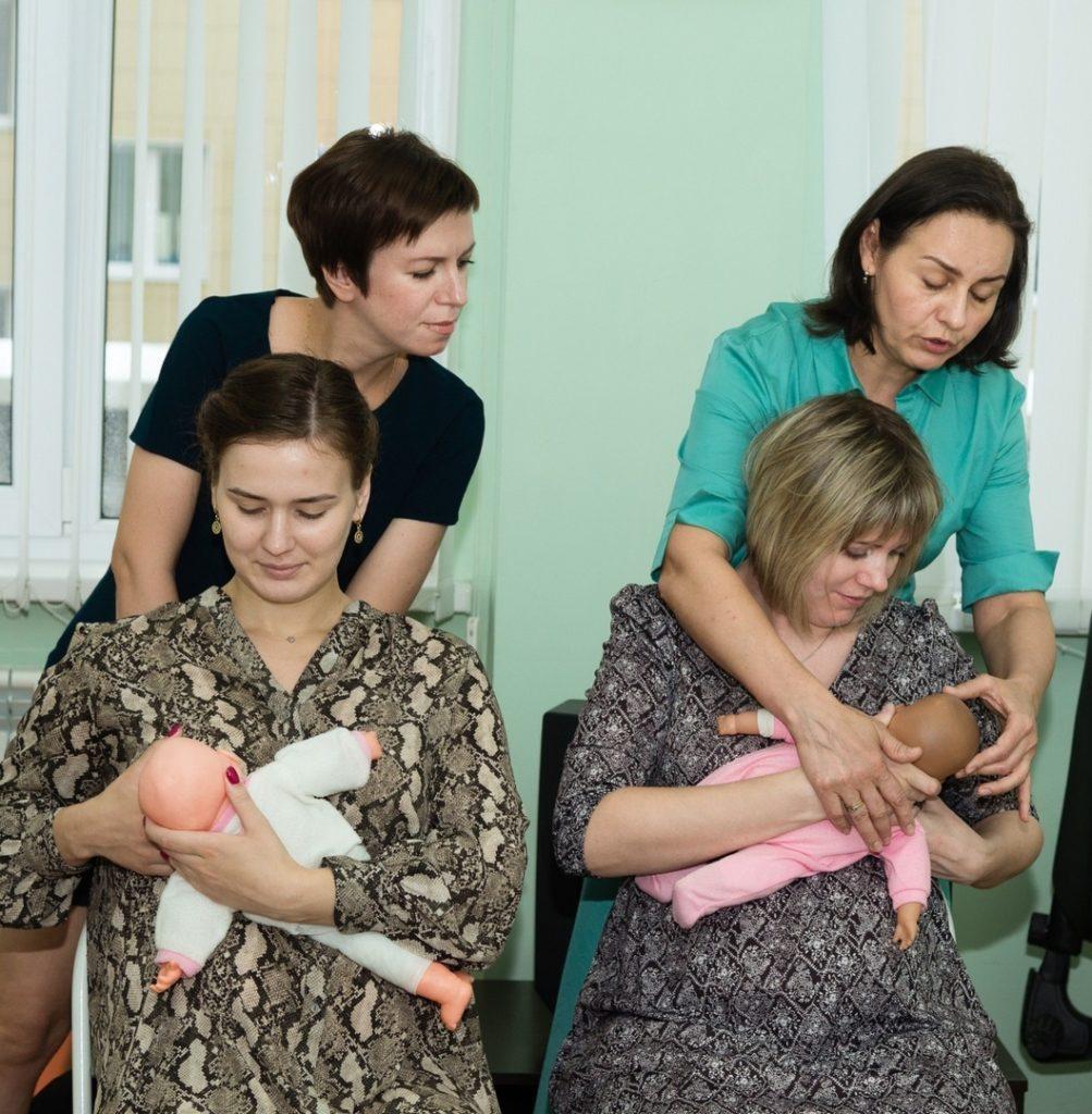 Бесплатная беседа Кормление грудью в роддоме в жк Белгорода